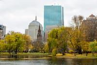 米国ボストンへの留学は勉強漬けの毎日だった(写真はボストン=PIXTA)