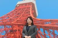 日本電波塔 広報・ライセンス管理担当 清水綾子さん