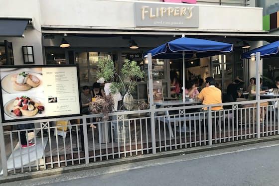 ベイクルーズのパンケーキ店「フリッパーズ」は海外に進出(東京都武蔵野市)