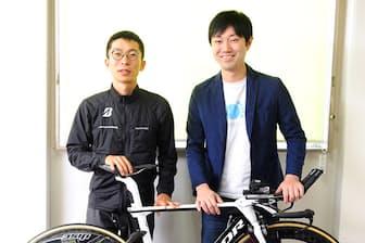 石川善樹氏(右)と西薗良太氏
