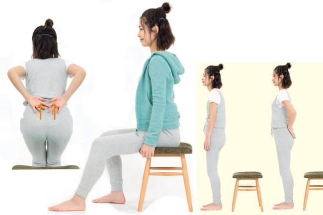 「利き尻」に体重を乗せ続けると、腰痛やぎっくり腰などの原因になります(写真:鈴木宏)