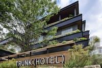 「トランクホテル」の第1号は原宿のキャットストリートのほど近くにある
