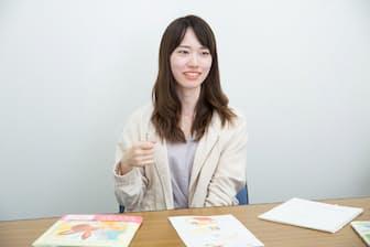 絵本作家・まつおりかこさん「働く親の苦労や愛情を絵本で伝えたい」(写真:品田裕美)