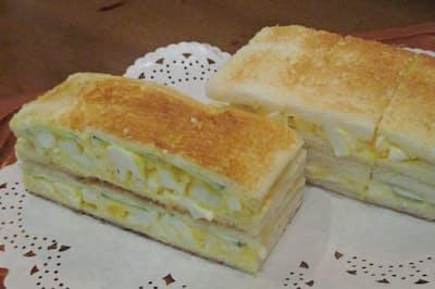 コーヒーショップナカタニでは固ゆで卵を使う(京都市東山区)