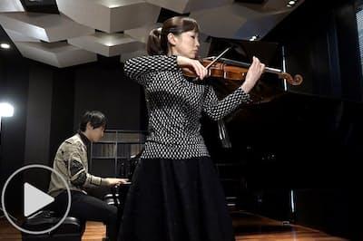 バイオリニスト礒絵里子20周年のブラームス