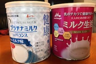 販売が好調な大人用粉ミルク