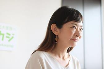 「一時は夫婦そろって家事を放棄してしまった」と、子どもが保育園に通っていた時期を振り返る和田幸子タスカジ社長