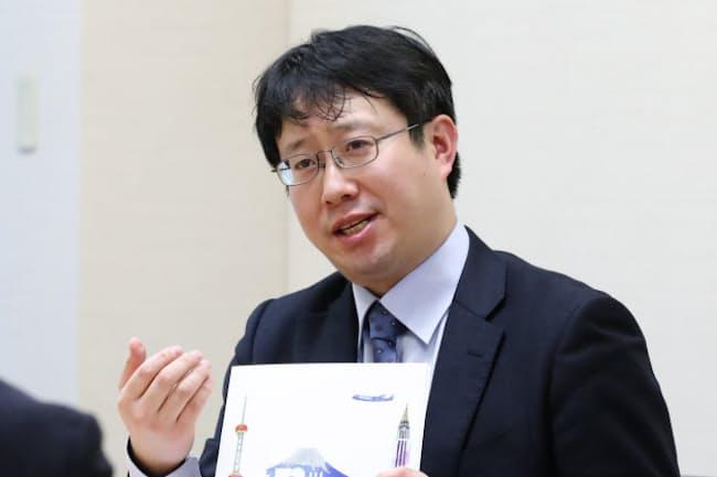 日本通運の大槻哲平さん