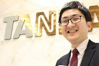 タニタの岩沢慶祐さん