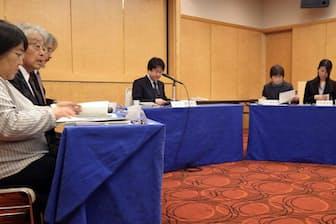 千葉県病院局の医療安全監査委員会には、患者会の代表や医療事故の遺族も参加する(8日、千葉市中央区)