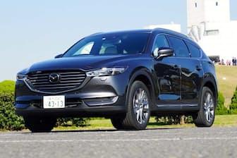 3列シートで最大7人乗りの新型SUV「CX-8」。メーカーの予想を大きく上回る人気になっている