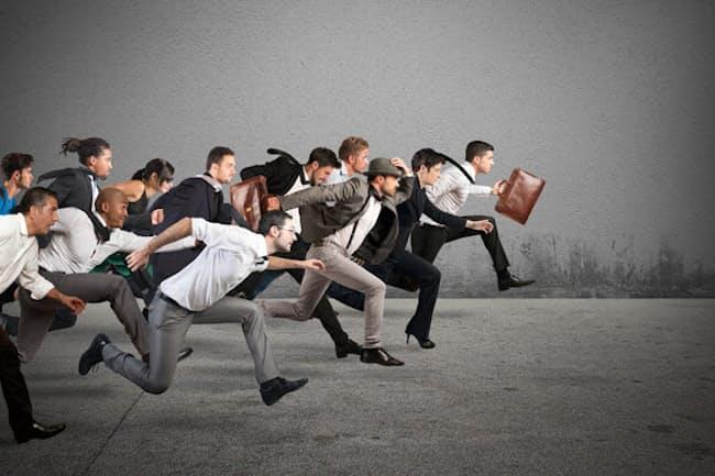 ビジネスには生き馬の目を抜くような競争がつきものだが……。写真はイメージ