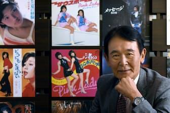 1948年東京生まれ。72年に「どうにもとまらない」で日本レコード大賞作曲賞。作詞家の阿久悠氏らと組んで「個人授業」「五番街のマリーへ」「UFO」などヒット曲を量産。2010~16年日本音楽著作権協会(JASRAC)会長。横綱審議委員会委員。岡村享則撮影