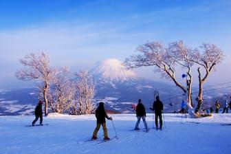 冬のニセコスキー場=PIXTA