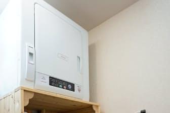 洗濯機と乾燥機が分かれていると、洗濯と並行して乾燥ができる利点がある