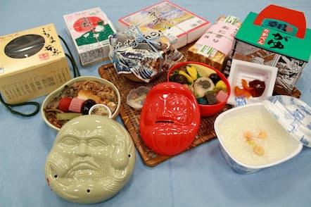 だるま弁当、峠の釜めし、上州の朝がゆ……。高崎駅で販売される駅弁はバラエティーに富む