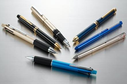 1本持っていると仕事に便利な多機能ペン。ボールペン自体の性能がアップしたおかげで、多機能ペンは以前よりずっと使いやすくなっている