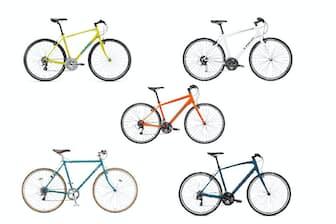 クロスバイクは1台で何にでも対応できる汎用性の高さが魅力
