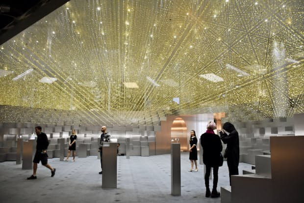 シチズングループの展示空間「タイムシアター」