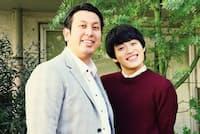 実方孝生(左)1989年6月25日生まれ、千葉県出身。池田直人(右)1993年9月19日生まれ、大阪府出身。よしもとクリエイティブ・エージェンシー所属