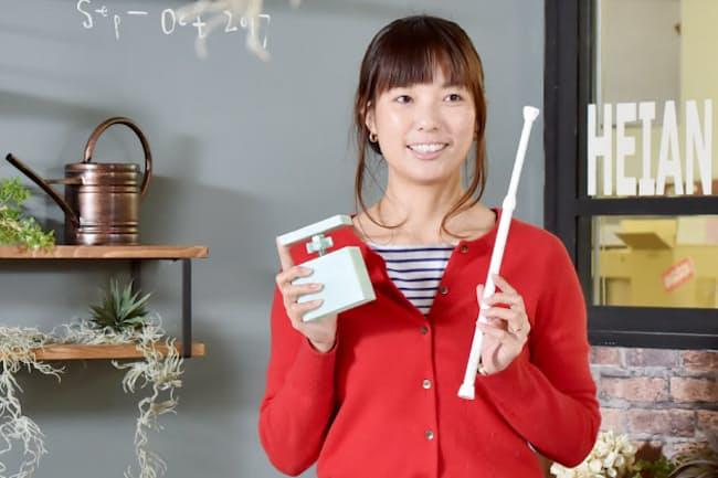 平安伸銅工業代表取締役の竹内香予子さん
