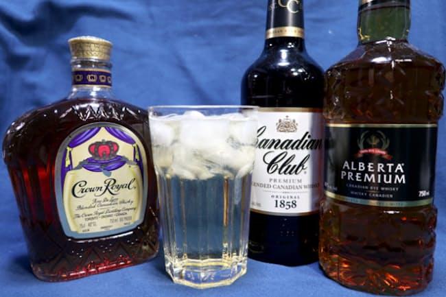「クセ」のなさで高い人気を誇るカナディアンウイスキー