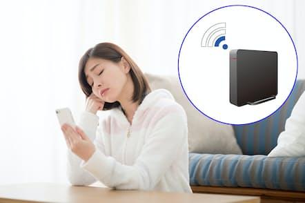 自宅のWi-Fiを高速化?#24037;?#25913;善策を紹介?#24037;耄?#30011;像はイメージ=PIXTA)