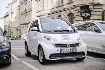 メルセデス・ベンツおよびスマートを利用したカーシェアリングプログラム、「car2go」の2017年の利用者数は約297万人で前年比は30%増だったという (C)2018 Daimler AG. All rights reserved.
