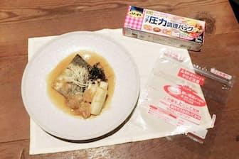 リード プチ圧力調理バッグで調理した和食の定番「サバの味噌煮」