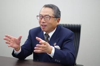 レノバ会長の千本倖生氏