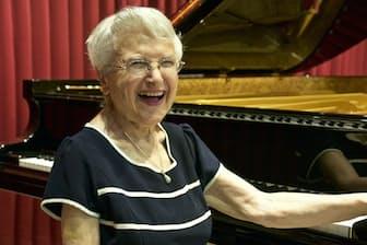 3歳でピアノをはじめ、今年1月で90年が過ぎた。