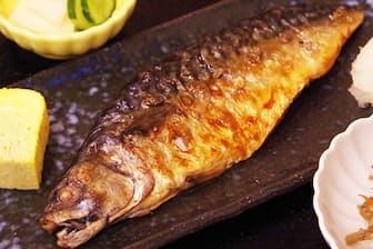 多くの客を引き付ける「定食屋 亘」の「もの凄い鯖 定食」