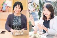 仕事や家事に手放せない無料アプリを、2人の専門家が教えます(写真左:小野さやか、写真右:鈴木愛子)
