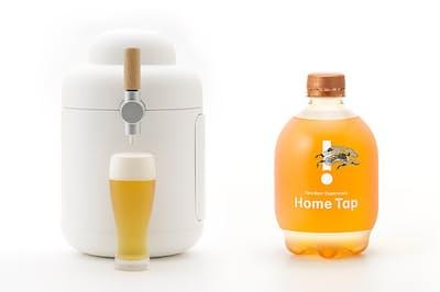 キリンの月額制ビール配送サービス「ホームタップ」は1万5000人待ちの人気だ