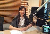 フリーアナウンサーの河西美紀さんは全く別の仕事に転職していた経験を持つ。