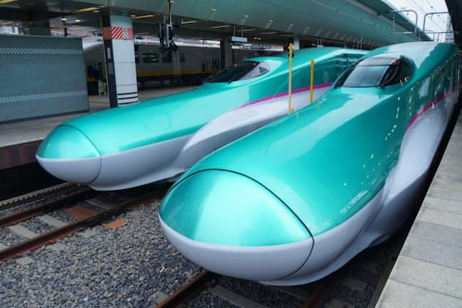東北新幹線などで運行する「はやぶさ」=PIXTA