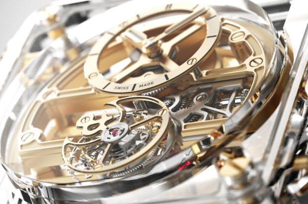pretty nice 1dd47 99af7 ベル&ロス、サファイアケースの新作スケルトン腕時計|Men's ...