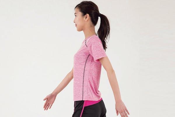 大腰筋や内転筋を歩くだけで強化するために意識したい3つのポイントとは?(写真=小西範和、以下同)