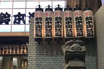 上野の落語ホール(東京都台東区)