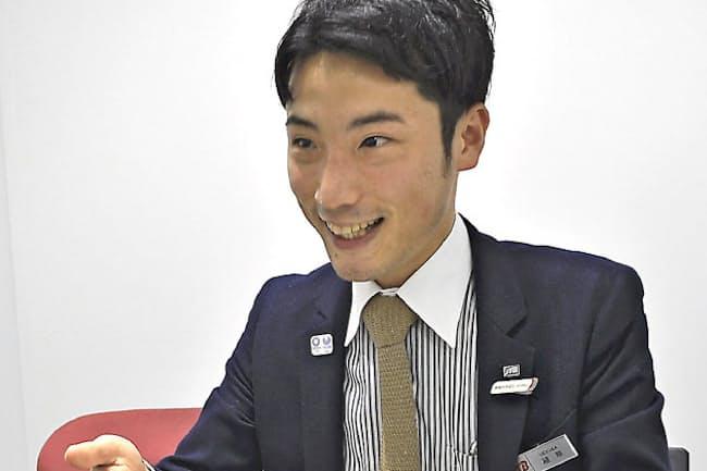 JTB名古屋事業部の植草誠さん