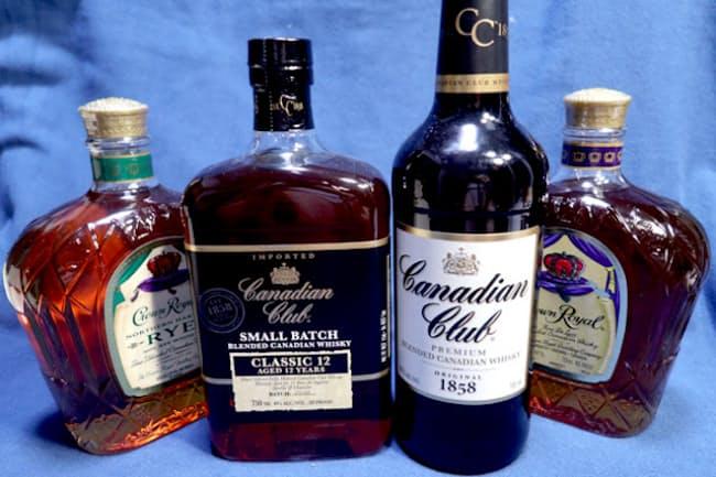 カナダ産ウイスキーの至宝、カナディアンクラブ