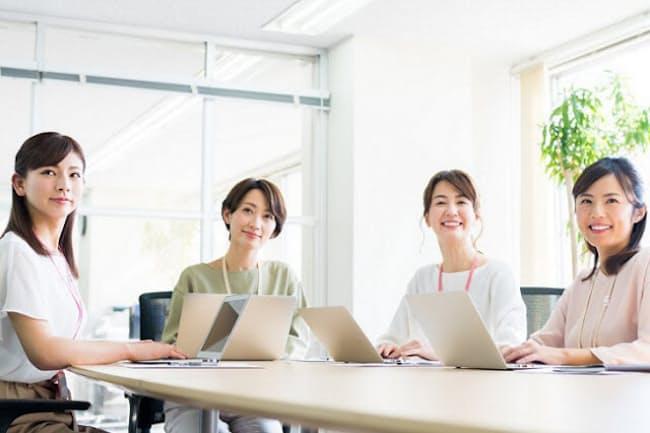 「働きがい」と「働きやすさ」を実現した女性が活躍する会社(写真はイメージ=PIXTA)
