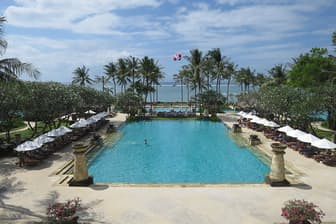 LCCなら気軽に高級リゾートホテルやヴィラで至福の時間を過ごすことも可能だ(写真はバリ島のリゾートホテル)