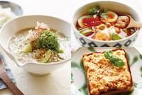 栄養満点な簡単朝食メニュー(nikkei WOMAN Onlineより)=写真/福岡 拓