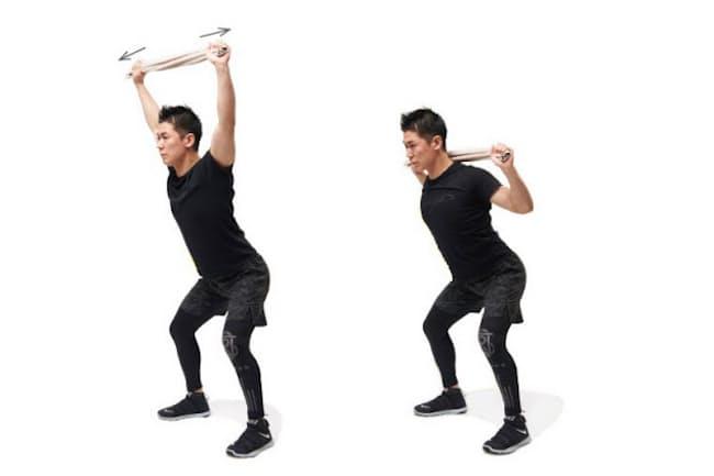 最短で筋肉が鍛えられる自重筋トレを提唱するトレーナーの比嘉一雄さん(写真 吉澤咲子、以下同)
