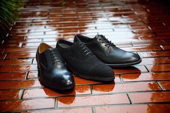 雨の日だけではなく、普段づかいもできる「防水」革靴を紹介する