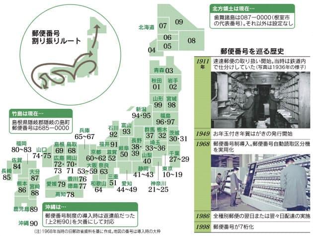 郵便番号の謎 「100」は東京、「010」はなぜ秋田?|MONO TRENDY ...