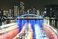 1位に選ばれた永代橋の夜景