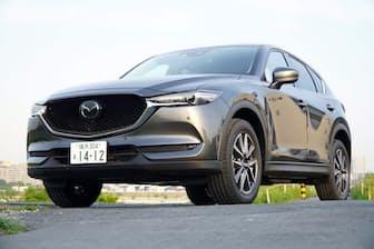 2018年3月8日に発売された改良版の2代目「CX-5」。希望小売価格は税込み249万4800~352万6200円