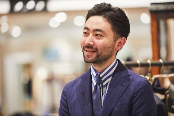 Le Dome EDIFICE 丸の内店 ファッションコーディネーター 鈴木央向さん